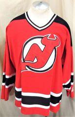 42ec2e0f0 Vintage 90 s Starter New Jersey Devils (XL) Retro NHL Pullover Knit Hockey  Jersey