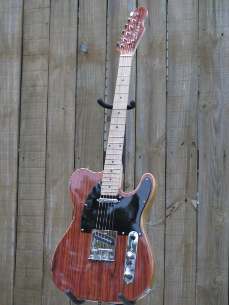SOLD!! Custom Baja Tele style 6 string solid body electric guitar