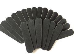 100 Nail files 9cm x 2 cm 180/180 grit
