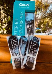 Gouni Starter Kit- Sterilizable Foot Paddle & Disposable Grits