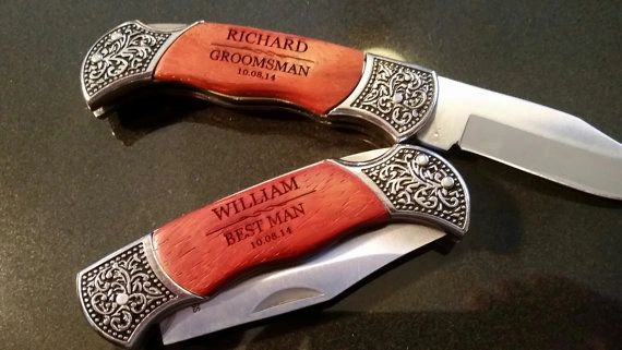 Groomsman Personalized Knife
