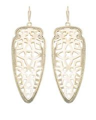 Kendra Scott Sadie Spear Earrings in Gold