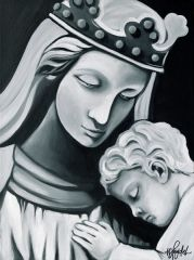 """Madonna & Child"" ... Assorted Size Paper & Canvas Prints"