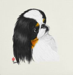 """Donny"" ... Japanese Chin, 5 x 7 Note Cards & 8x10 Matted Print"