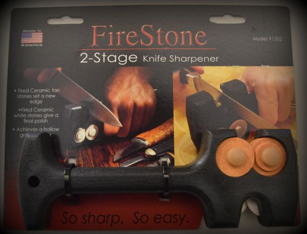 Knife Sharpener [Fire Stone]