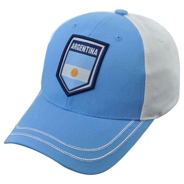 Rhinox Group Argentina Team Soccer Futbol World Cup C1W16 Sun Buckle Hat Cap 586ffb300da