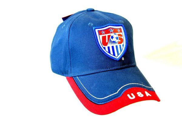 USA Authentic Official Licensed Soccer Cap (Medium a2fd689e2f0