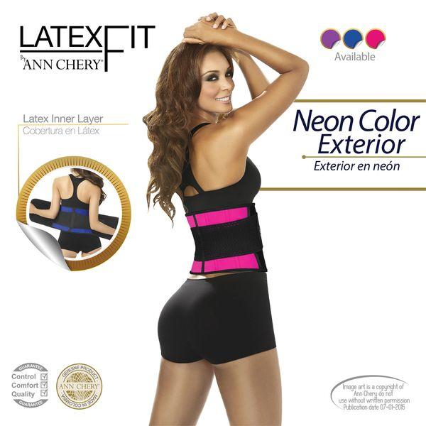 00cbab23206 Ann Chery 2051 - Latex Fit Adjustable Fitness Wrap Around Belt ...