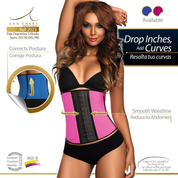 4d685a27d4 Featured Products.  1 Seller DV 3 Hooks Ultimate Latex Waist Trainer - Sport  2 in 1 Long Torso