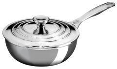 2qt. Stainless Steel Saucier Pan w/ Lid