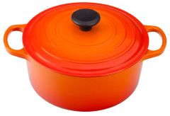 4.5qt. Signature Round Dutch Oven - Flame