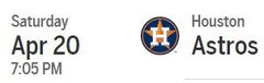 NTJC Texas Rangers Tickets April 20th 2019