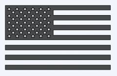 America Flag Decal