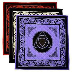 COTTON TRIQUETRA PRINT YOGA MEDITATION MAT