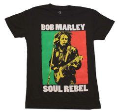 Bob Marley Soul Rebel Color Block T-Shirt