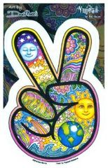 Dan Morris Peace Finger Sticker