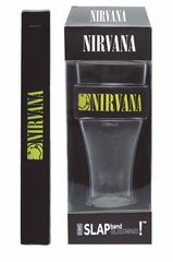 Nirvana Smiley Logo Heavy Duty Slap Band Pint Glass
