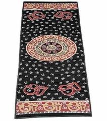 Cotton Om Mandela Print Design Yoga Meditation Mat