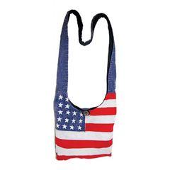 American Flag Handbag