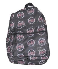 Slayer All Over Logo Print Backpack