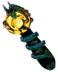 Empire Glassworks DRAGON THEMED MINI SPOON PIPE