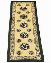 Om Cotton Meditation Yoga Mat