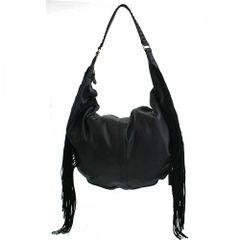 David Jones Side Fringe Hobo Handbag