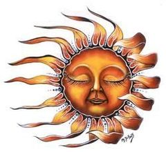 Mike DuBois Sleeping Sun Sticker