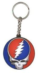 GRATEFUL DEAD STEAL YOUR FACE KEY CHAIN