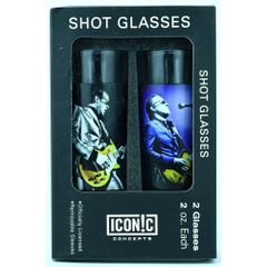 Joe Bonamassa Gold Guitar Shot Glasses (2 Pack)