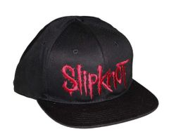 Slipknot Embroidered Logo Snap Back Hat