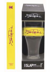 Jimi Hendrix Purple Signature Heavy Duty Slap Band Pint Glass