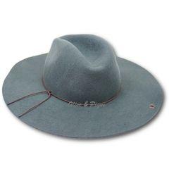 Grey Peter Grimm Wool Felt Safari Style Floppy Hat