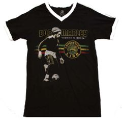 Bob Marley Football is Freedom V-Neck Jersey