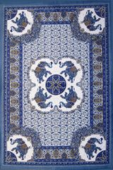 4 Corner Elephant Mandala Tapestry
