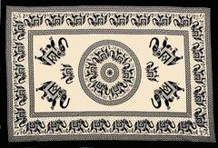 Elephant Mandala Bohemian Tapestry