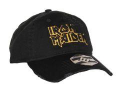 Iron Maiden Yellow Logo Dad Hat