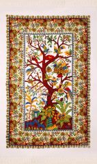 Tree Of Life With Fringe Tapestry