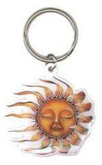 Mike Dubois Sleeping Sun Key Chain