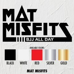 Mat Misfits - STICKERS