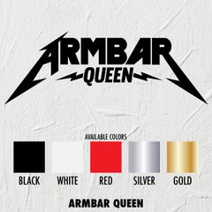 Armbar Queen - STICKER
