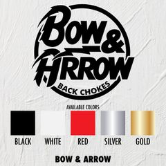 Bow & Arrow - STICKERS