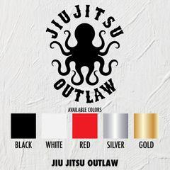 Jiu Jitsu Outlaw - STICKERS