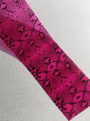 Foil - Red Snakeskin
