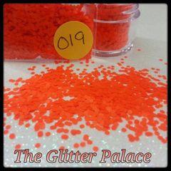 O19 Neon Orange (.062) Solvent Resistant Glitter
