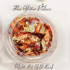 Multi Colored #1 - Gold Leaf Foil