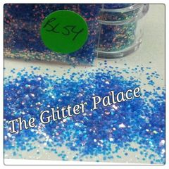 BL54 Blue Luster Iron (.040) Solvent Resistant Glitter