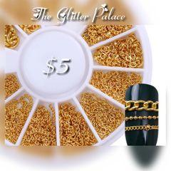 Gold Mixed Chain Wheel