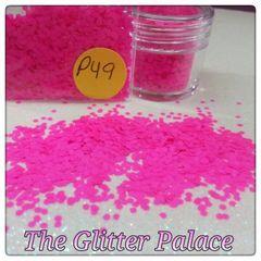 P49 Neon Magenta (.062) Solvent Resistant Glitter