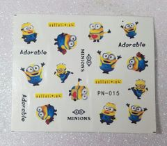 Water Slide Decal (PN015) Minions